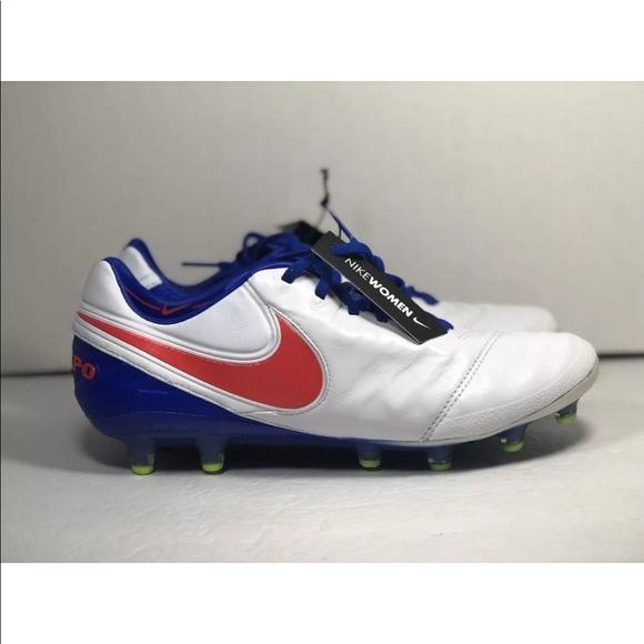 new styles abced ffba3 Nike Tiempo Legend VI AG Women Size 9